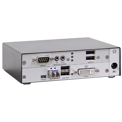 Rose Electronics Orion XTender DVI-D/USB HID 2-Card Receiver Chassis over CATx Cable