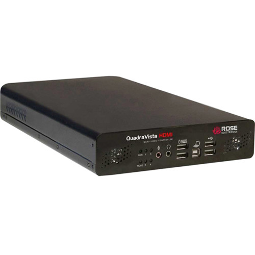 Rose Electronics QuadraVista HDMI 1 x 4 Video KVM Switch