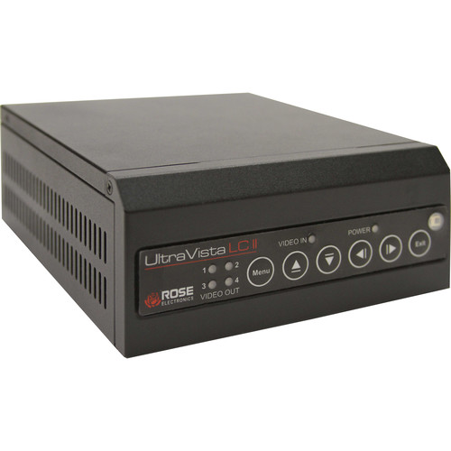 Rose Electronics UltraVista LC II 2x2 Video Array Wall Controller with 1 HDMI Input and 4x Single-Link HDMI Outputs