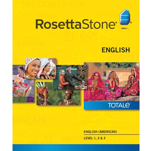 Rosetta Stone English / American Levels 1-3 (Version 4 / Mac / Download)