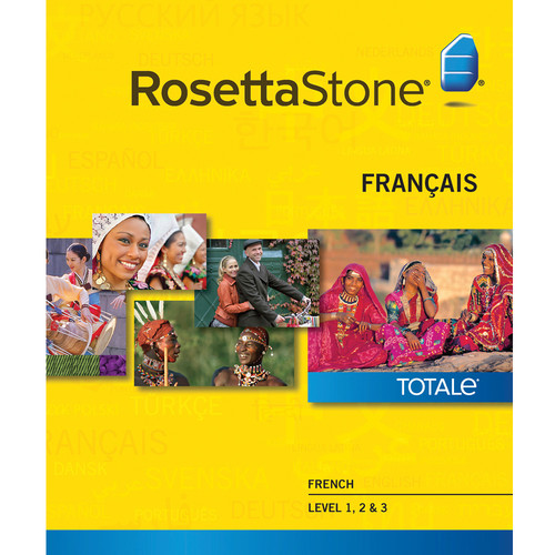 Rosetta Stone French Levels 1-3 (Version 4 / Mac / Download)