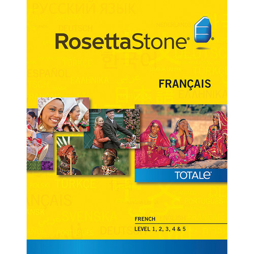 Rosetta Stone French Levels 1-5 (Version 4 / Mac / Download)