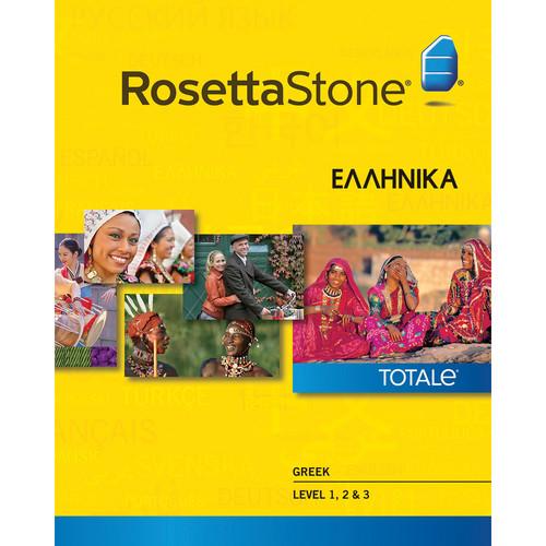 Rosetta Stone Greek Levels 1-3 (Version 4 / Mac / Download)