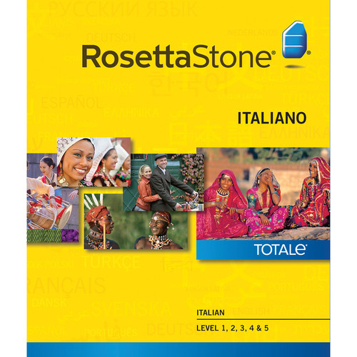 Rosetta Stone Italian Levels 1-5 (Version 4 / Windows / Download)