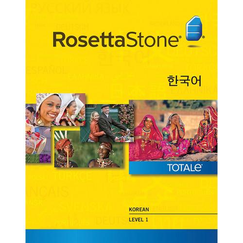 Rosetta Stone Korean Level 1 (Version 4 / Windows / Download)