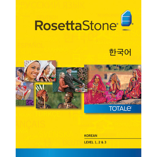 Rosetta Stone Korean Levels 1-3 (Version 4 / Mac / Download)