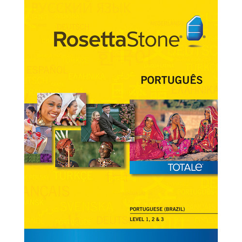 Rosetta Stone Portuguese / Brazil Levels 1-3 (Version 4 / Mac / Download)