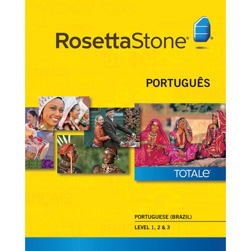 Rosetta Stone Portuguese / Brazil Levels 1-3 (Version 4 / Windows / Download)