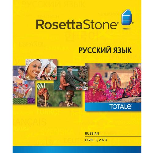 Rosetta Stone Russian Levels 1-3 (Version 4 / Mac / Download)