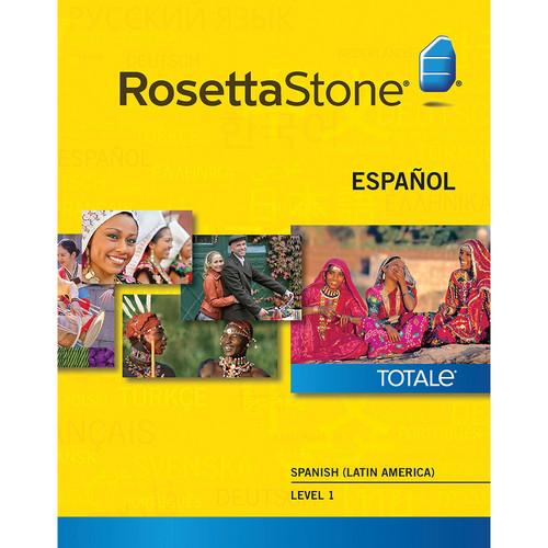 Rosetta Stone Spanish / Latin America Level 1 (Version 4 / Mac / Download)