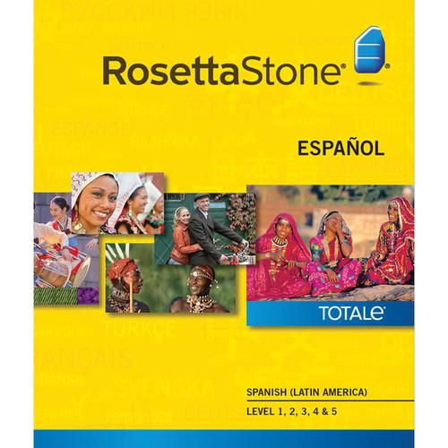 Rosetta Stone Spanish / Latin America Levels 1-5 (Version 4 / Windows / Download)