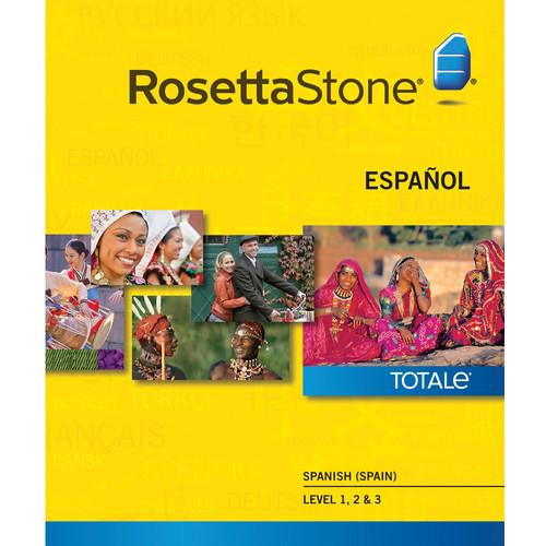 Rosetta Stone Spanish / Spain Levels 1-3 (Version 4 / Mac / Download)