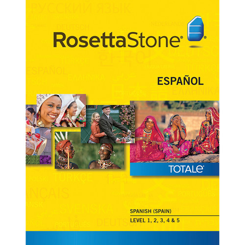 Rosetta Stone Spanish / Spain Levels 1-5 (Version 4 / Windows / Download)