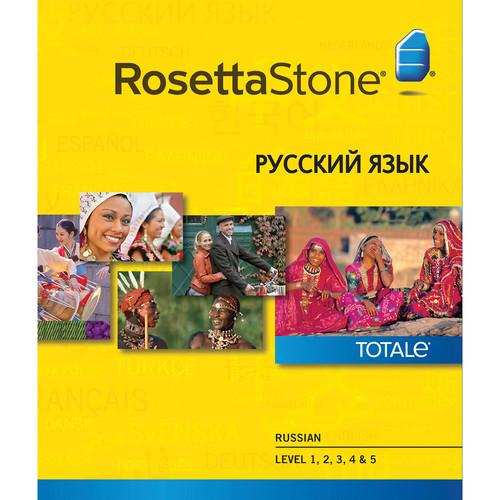 Rosetta Stone Russian Levels 1-5 (Version 4 / Windows / Download)