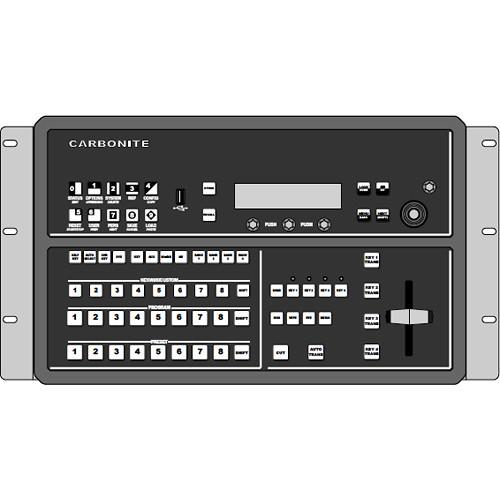 Ross Video Rackmount Kit for Carbonite Black Solo/CB9 Panel