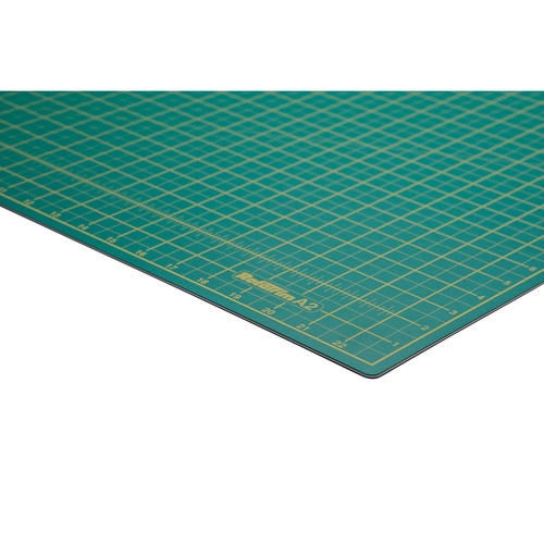"Rotatrim A2 Self-Healing Cutting Mat (23.4 x 16.5"", Dark Green)"
