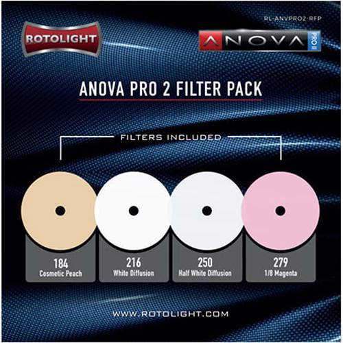 Rotolight Filter Pack for Anova V2 Pro & Pro 2 (4-Pack)
