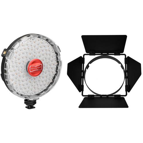 Rotolight Rotolight NEO On-Camera LED Light Kit with Barndoors
