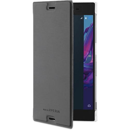 roxfit Premium Book Case for Xperia XZ (Black)