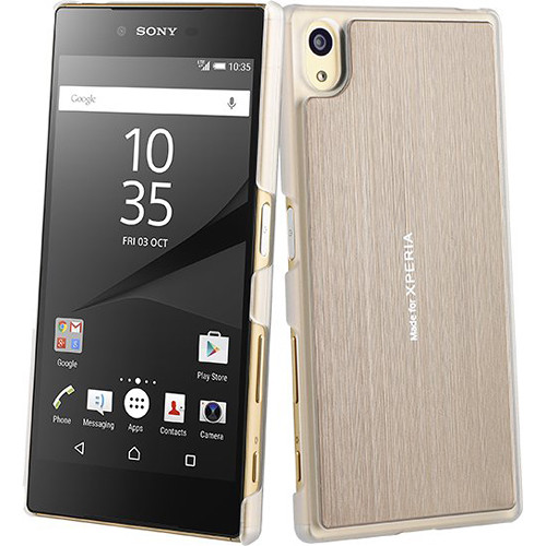 roxfit Slim Shell for Xperia Z5 (Gold)