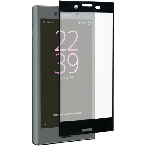 roxfit Tempered Glass Protector for Xperia X Compact (Black)