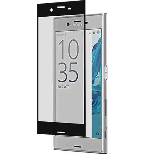 roxfit Tempered Glass Protector for Xperia XZ (Black)