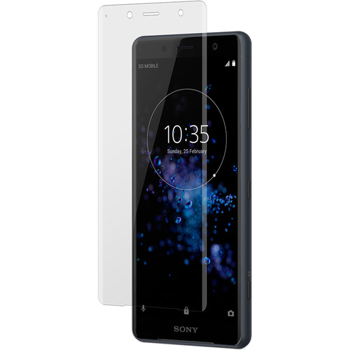 roxfit Clear Curved Tempered Glass Screen Protector for Sony Xperia XZ2 Compact