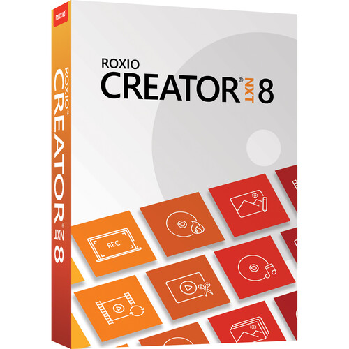 Roxio Creator NXT 8 for Windows (Boxed)