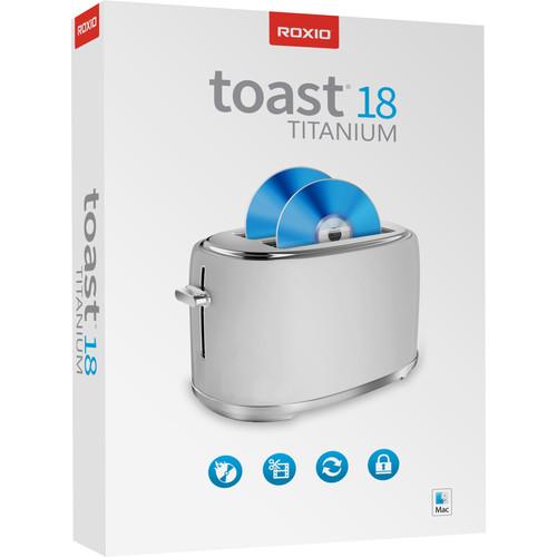 Roxio Toast Titanium 18 ML Mini-Box Software