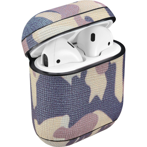 Royal Individual AMZELCC-GC Leather CAMO Series AirPods Case (Green)