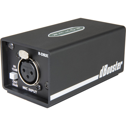 Royer Labs R-DB20 dBooster In-Line Signal Booster for Dynamic & Ribbon Microphones