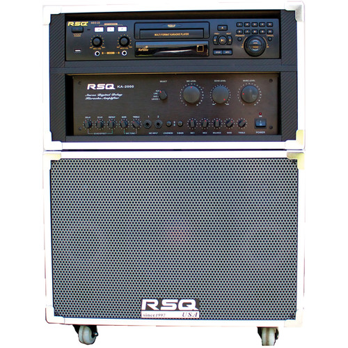 RSQ Audio J-Box II with NEO-22 Mobile Karaoke Entertainment System