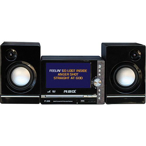 RSQ Audio P-300 - Multi-Format LCD Karaoke System