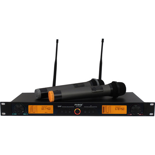RSQ Audio UHF-6200N 200-Channels Digital Wireless Microphone