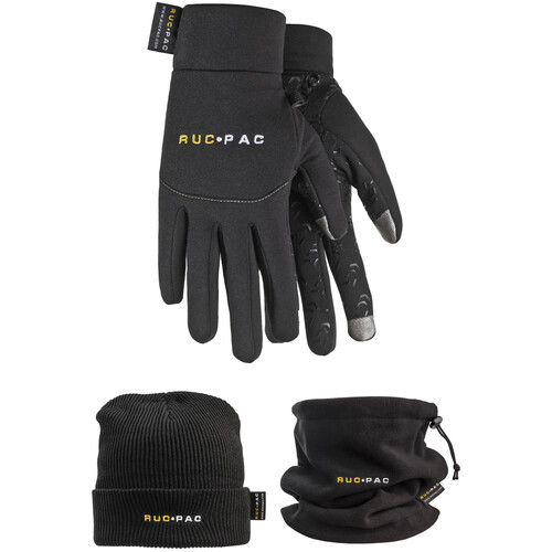 RucPac Photographer's Winter Apparel Package (Medium/Large, Black)