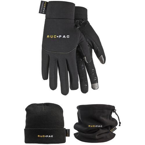 RucPac Photographer's Winter Apparel Package (Medium/Large, Black)