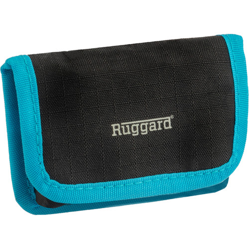 Ruggard Battery Pouch for 2 DSLR Batteries (Black)
