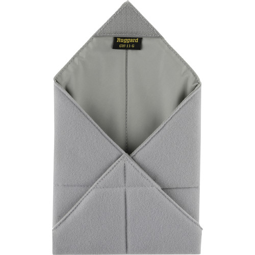 "Ruggard 11 x 11"" Padded Equipment Wrap (Gray)"