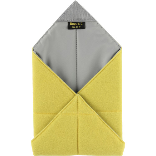"Ruggard 11 x 11"" Padded Equipment Wrap (Yellow)"