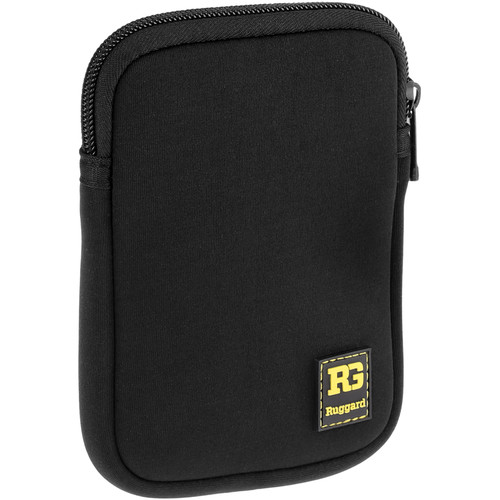 Ruggard Neoprene Case for Portable Hard Drives