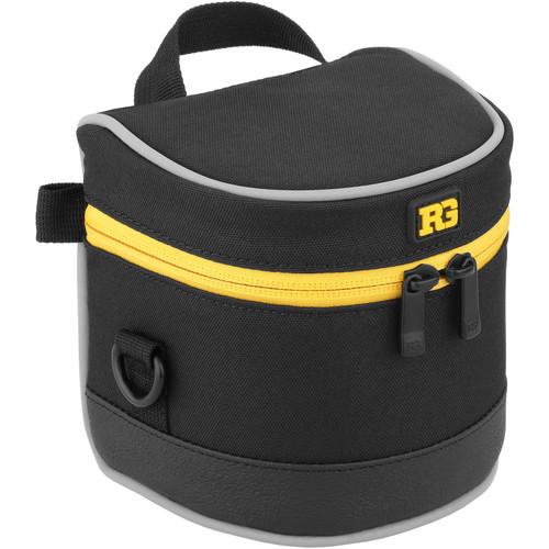 "Ruggard Lens Case 3.5 x 3.5"" (Black)"