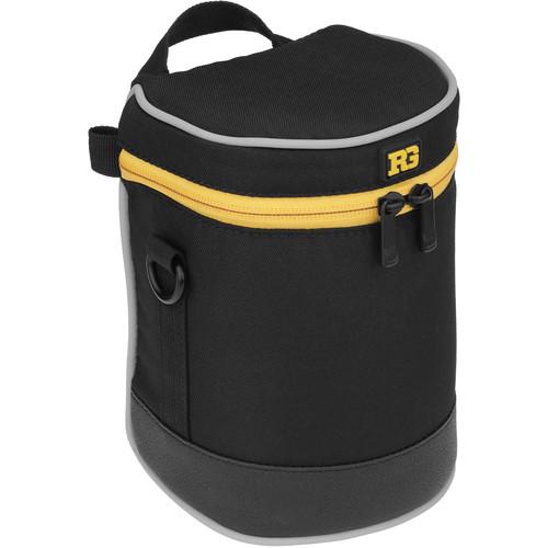 "Ruggard Lens Case 6 x 3.5"" (Black)"