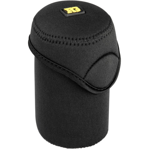 "Ruggard Fold-Over Neoprene Lens Pouch (3 x 4.5"", Black)"