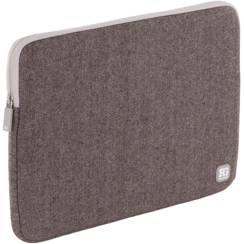"Ruggard Herringbone Sleeve for 14"" Laptop or 15"" MacBook Pro with Touch Bar"