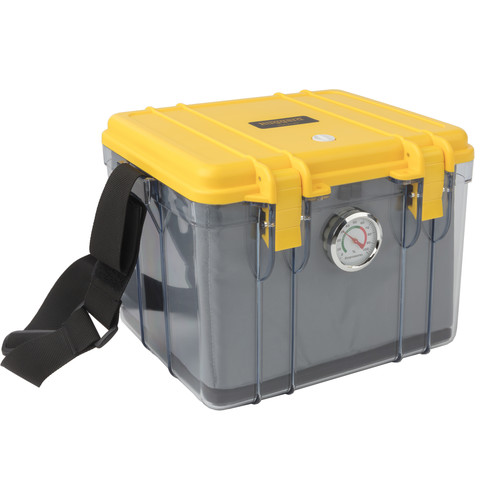Ruggard Portable Dry Case with Dehumidifier & Fabric Insert(Clear, 8.5L)