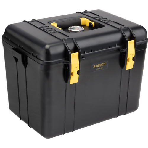 Ruggard Portable Dry Case with Dehumidifier (Black, 22.4L)