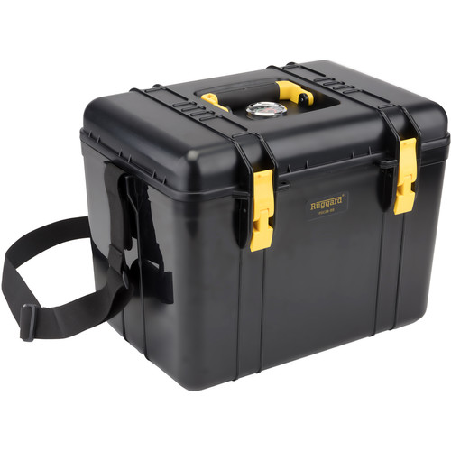 Ruggard Portable Dry Case with Dehumidifier & Fabric Insert (Black, 22.4L)