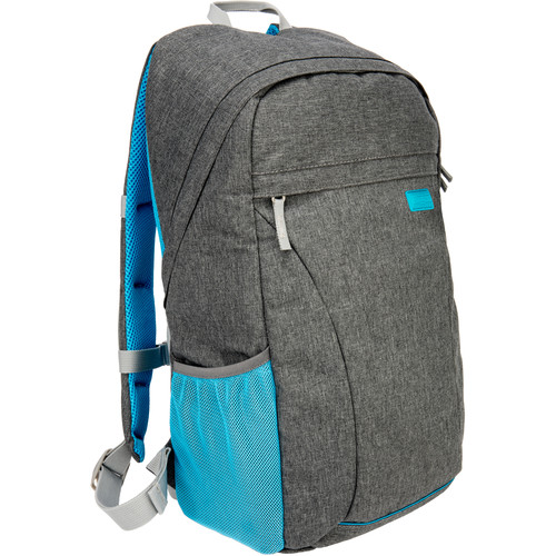 Ruggard Compact DSLR Backpack (Gray and Blue)