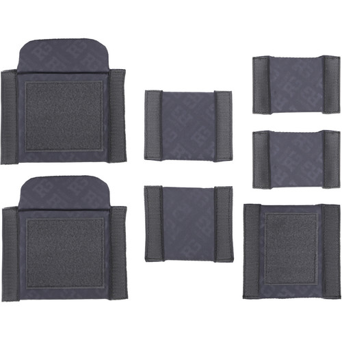 Ruggard Divider Set for the Commando Pro 45 and Navigator 45 Shoulder Bags (Pack of 7, Gray)