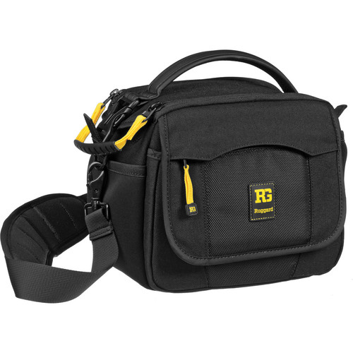 Ruggard Fast-Action Bullet 55 Shoulder Bag (Black with Gray Interior)